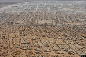 Fotografía: mandel ngan afo getty images. Campo de Refugiados de Zaateri (Jordania).