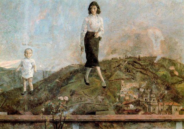 Mieres. Pintura de Antonio López
