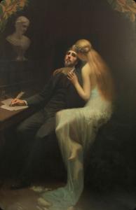 Gabriel de Coo-The muse